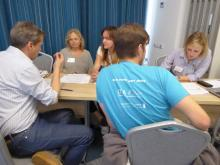 Communication workshop in Petrozavodsk